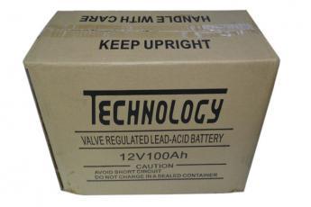 Аккумулятор Technology NP12-100 фото 5