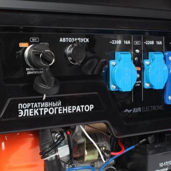 Бензиновый генератор PATRIOT GP 7210AE фото 4