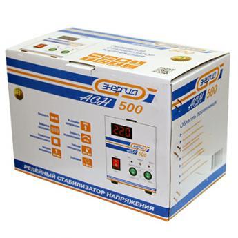 Стабилизатор напряжения Энергия АСН-500 фото 3