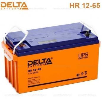 Аккумулятор Delta HR 12-65UPS фото 3