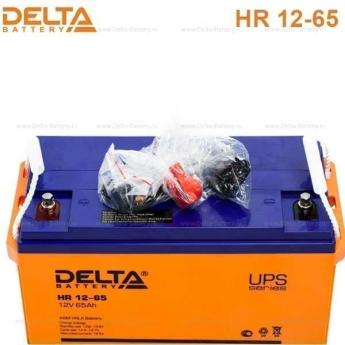 Аккумулятор Delta HR 12-65UPS фото 2