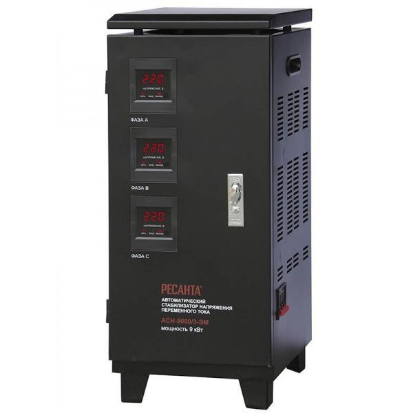 стабилизатор Ресанта АСН-9000/3-ЭМ
