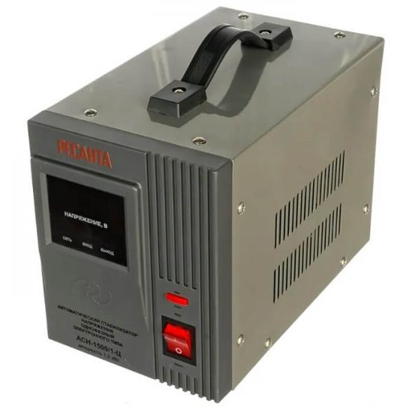 Стабилизатор напряжения Ресанта АСН-1500/1-Ц фото 2
