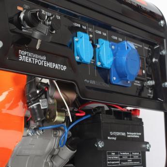 Бензиновый генератор PATRIOT GP 7210AE фото 3