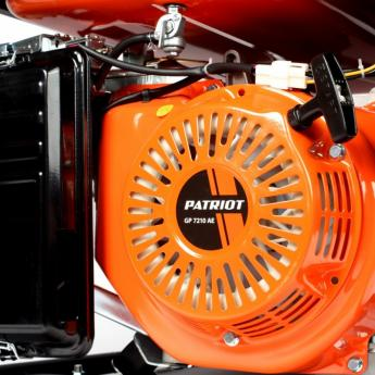 Бензиновый генератор PATRIOT GP 7210AE фото 5