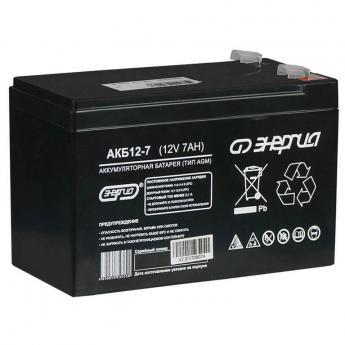 Аккумуляторная батарея Энергия АКБ 12-7 фото 1