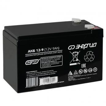 аккумулятор Энергия АКБ 12-9 фото 1