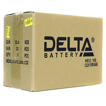 аккумулятор  Delta HR 12-100 фото 2