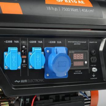 электрогенераторGP-8210AE фото 4